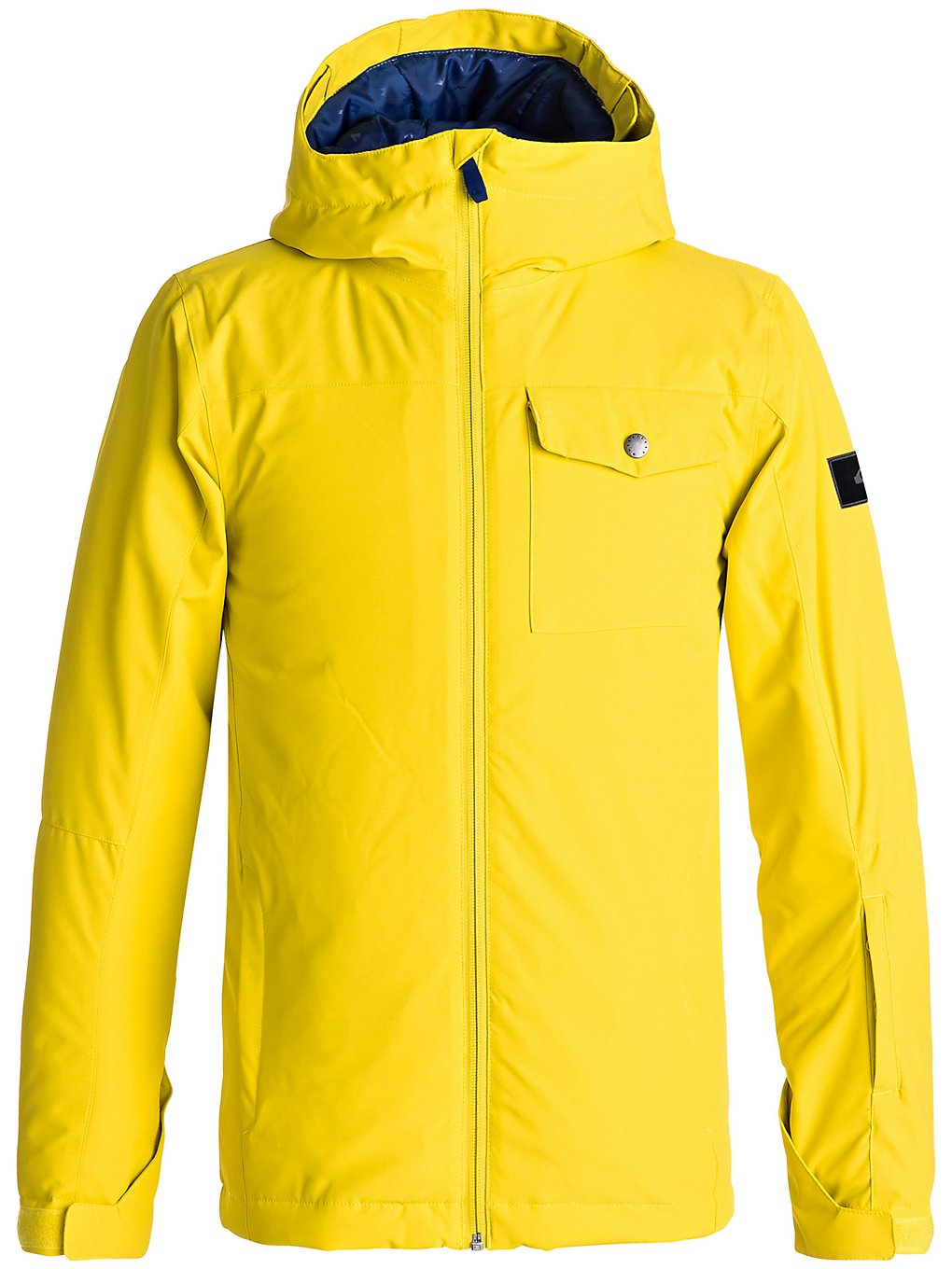 Quiksilver Mission Solid Jacket Boys yellow Jungen