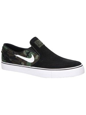 Nike Stefan Janoski (GS), Scarpe da Skateboard Unisex-Bambini, Nero (Black/White-Gum Medium Brown 021), 35.5 EU