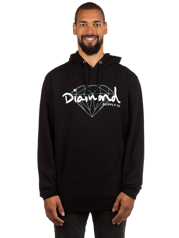 Diamond Brilliant Script Hoodie