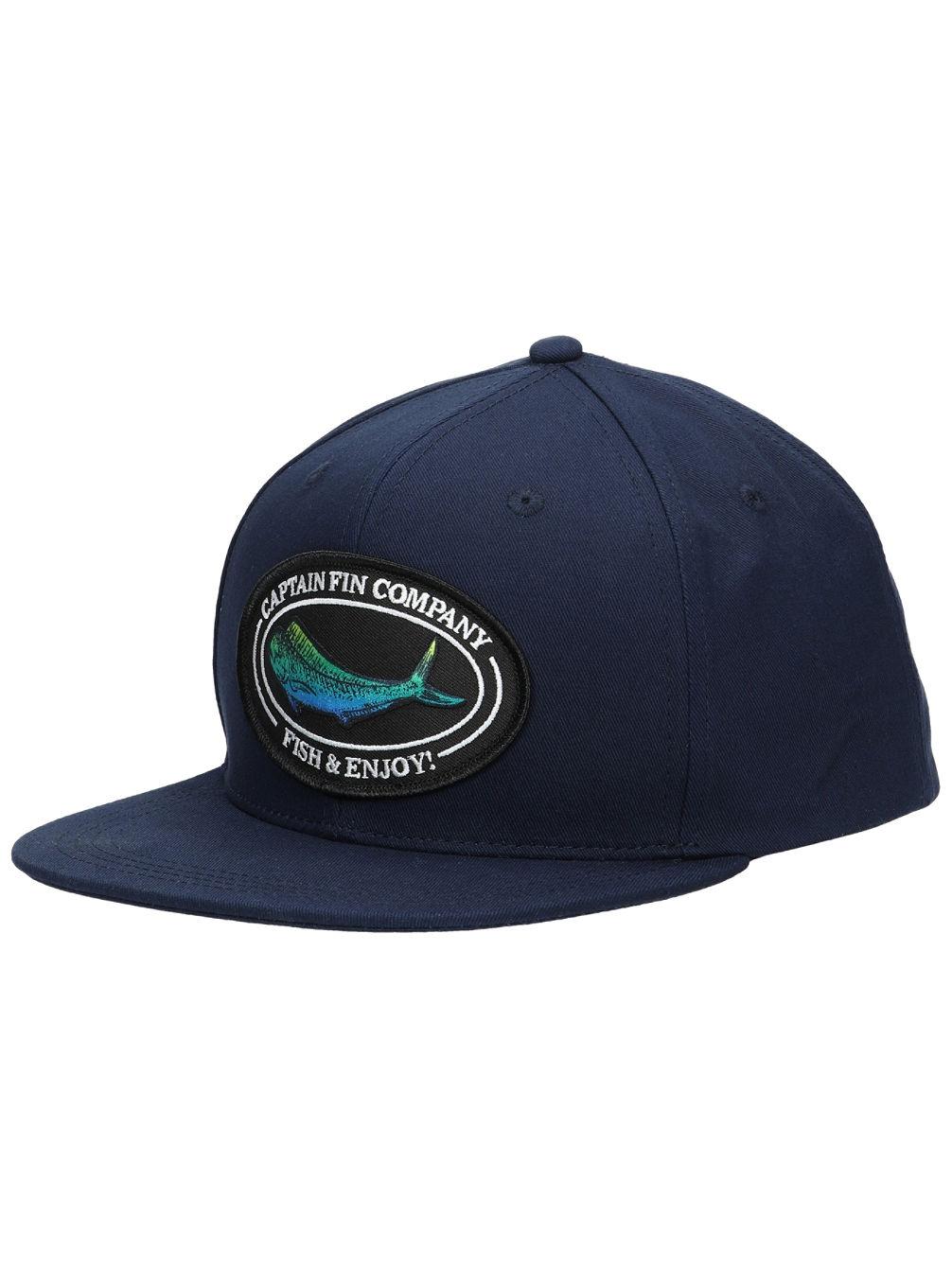 Captain Fin Mahi Mahi Hut Cap