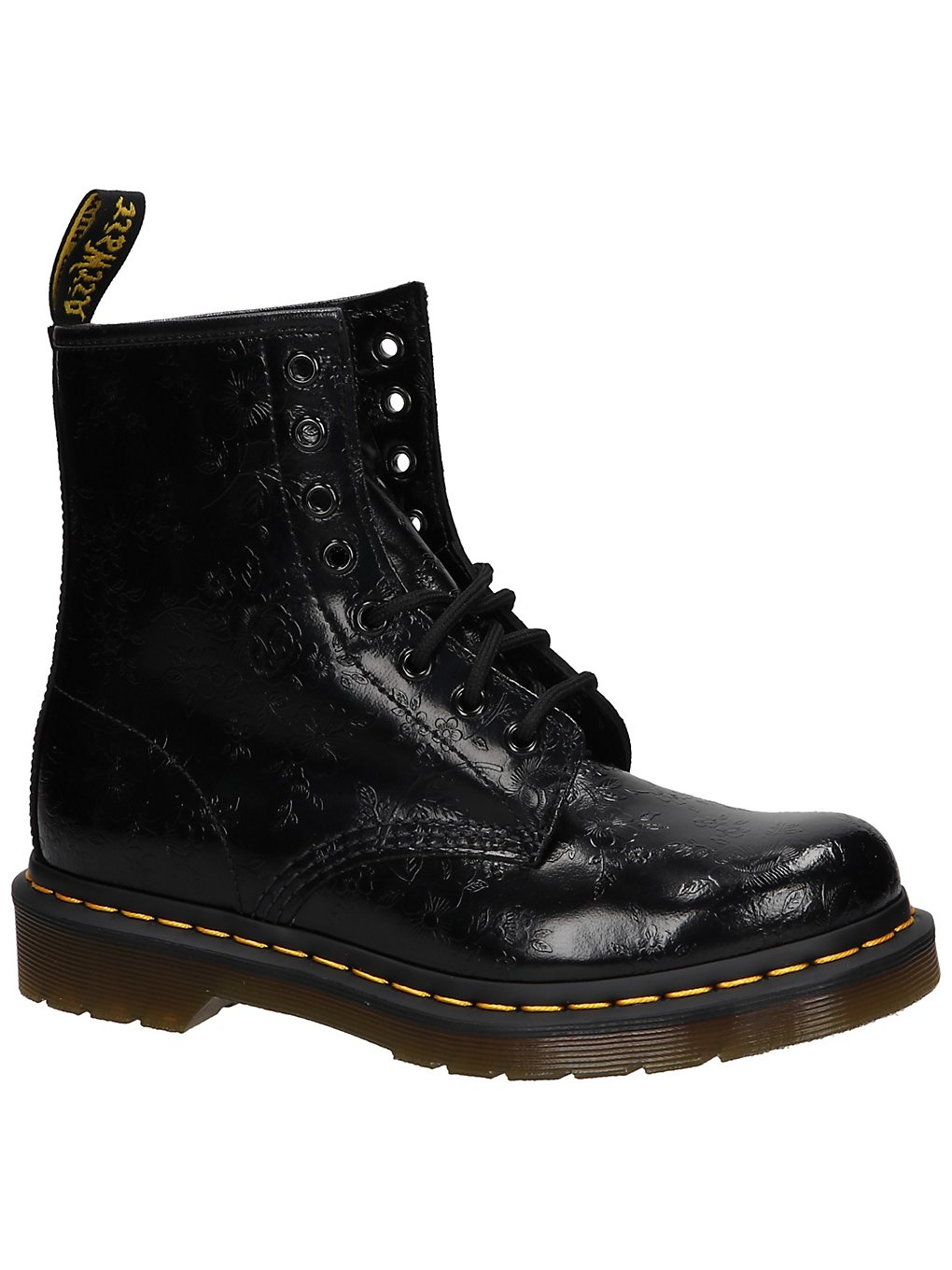 Dr. Martens 60 QQ Flowers 8 Eye Boots Women