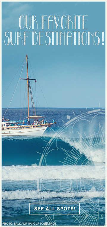 surf spots around the world
