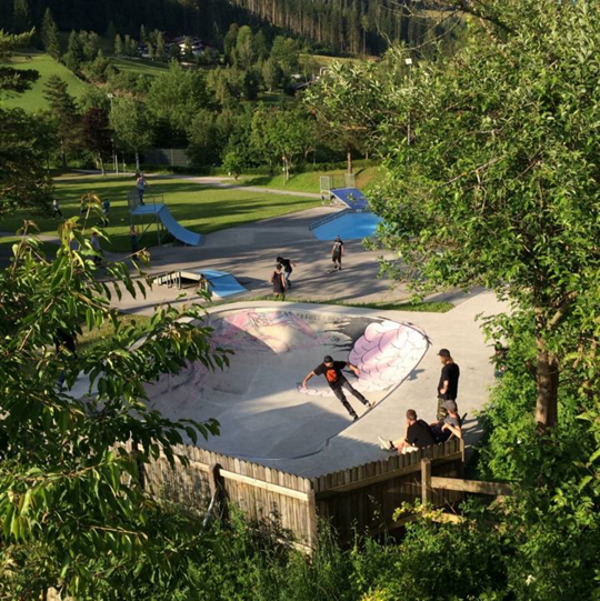 Teaser Skatepark Radstadt