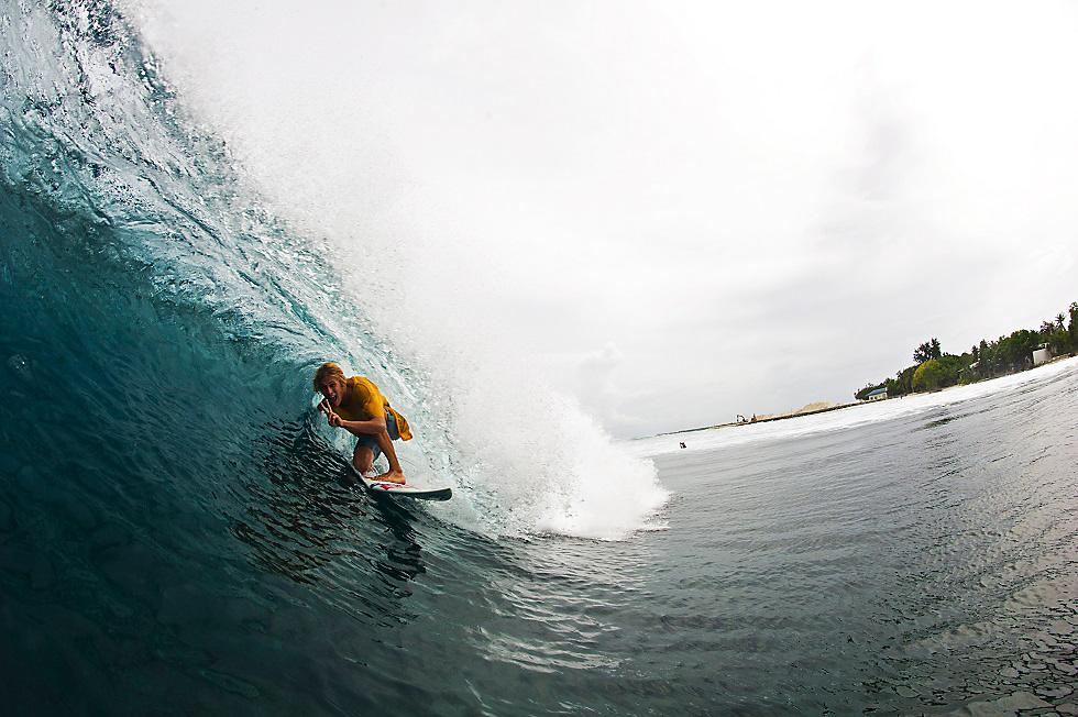 Jonas Bachlan in Maldiven