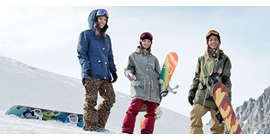Snowboard jackets women