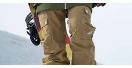 Snowboard pants women