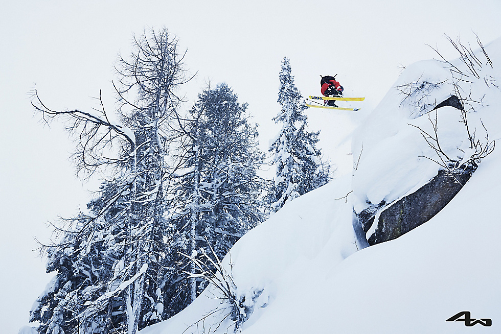 Martin Hauk im Backcountry