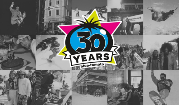 30 years Blue Tomato