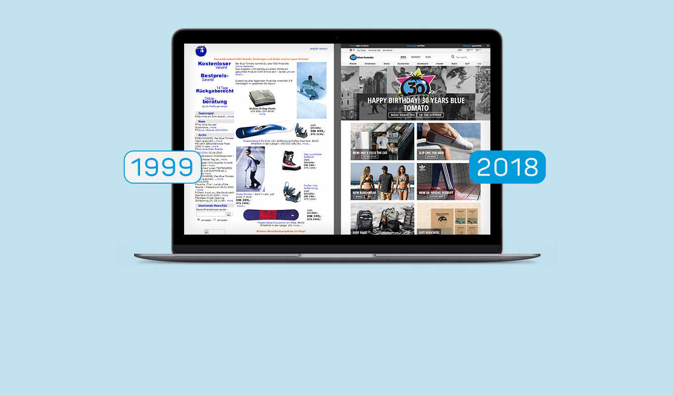 Webshop - Now & Then
