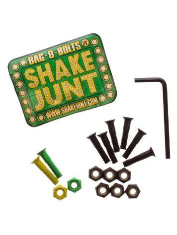 "Shake Junt Green Yellow Inbus 7/8"" Bolts"