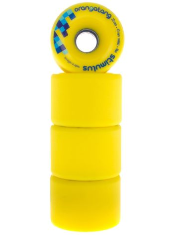 Orangatang Stimulus Yellow 70mm 86a Rollen