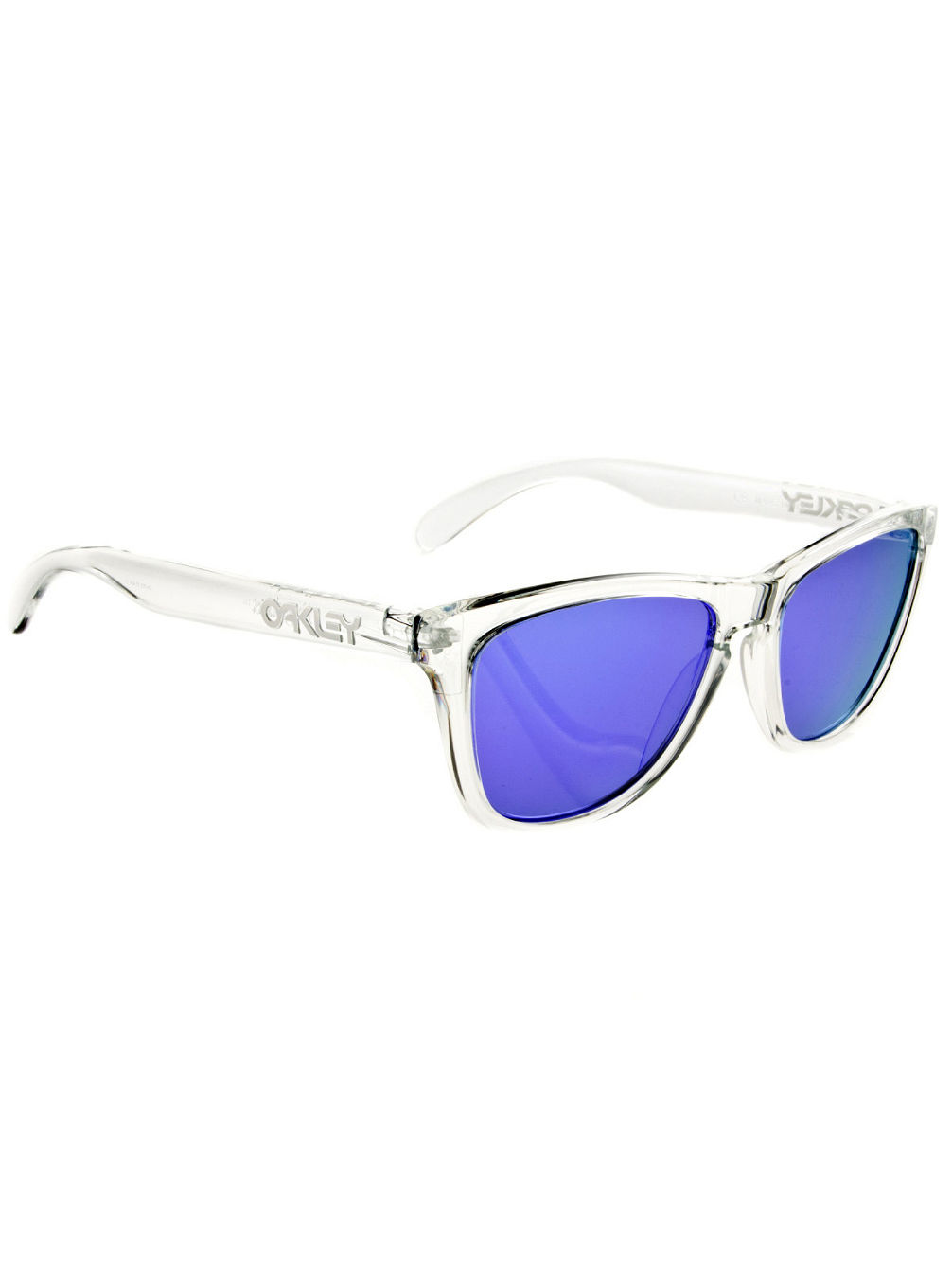 Frogskin polished clear Sonnenbrille