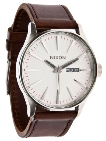 Nixon The Sentry Leather Klocka