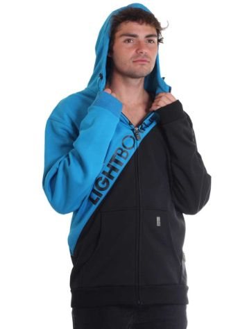 Light Corp Bonded Zip Hood