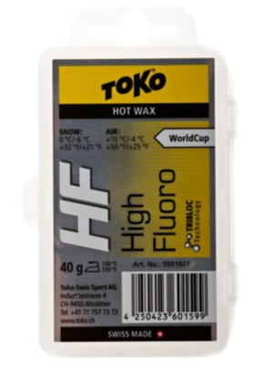Toko HF Hot Wax yellow 40g yellow Gr. Uni