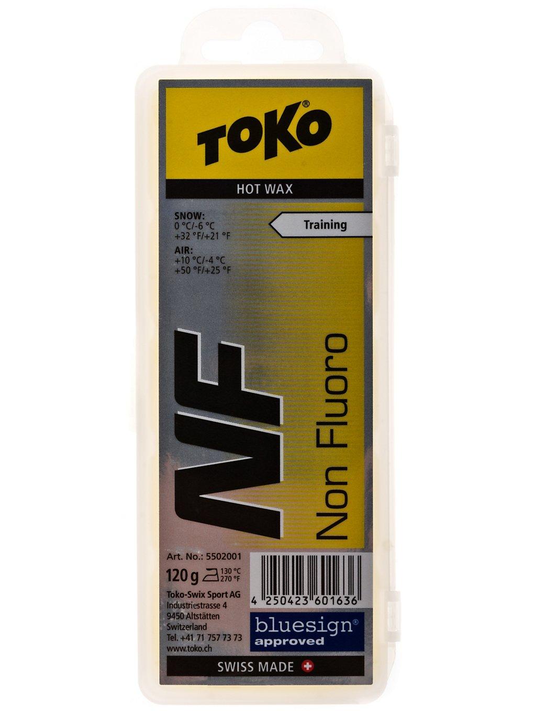 Toko NF Hot Wax yellow 120g yellow Gr. Uni