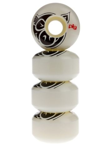 Pig Wheels Pig Head Natural 101A 53mm Rollen