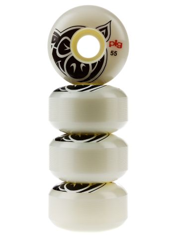 Pig Wheels Pig Head Natural 101A 55mm Rollen