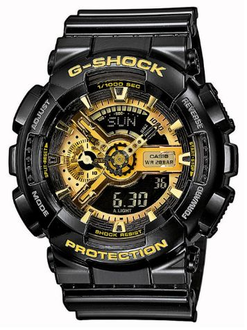 G-SHOCK GA-110GB-1AER Rannekello