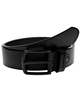 Reell Herren Gürtel All Black Buckle Belt Brown
