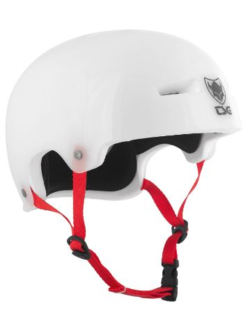 TSG Evolution Special Makeup Clear White Casco da Skateboard