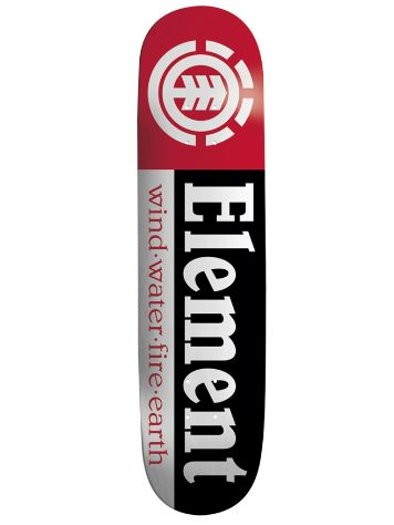 "Element Section Black Shape 9 7.75"" Skate Deck"