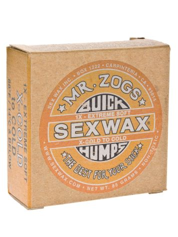Sex Wax Quick Humps yellow Extreme Soft Wax Surf