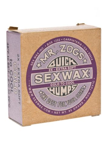Sex Wax Quick Humps purple Extra Soft Wax Surf