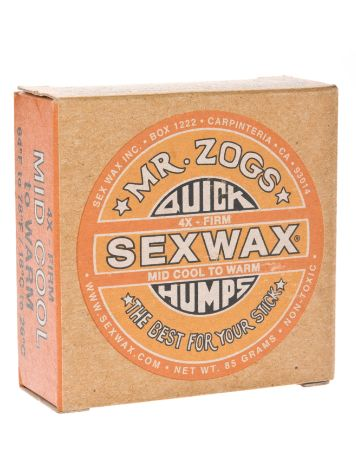 Sex Wax Quick Humps orange Firm Surf Wax