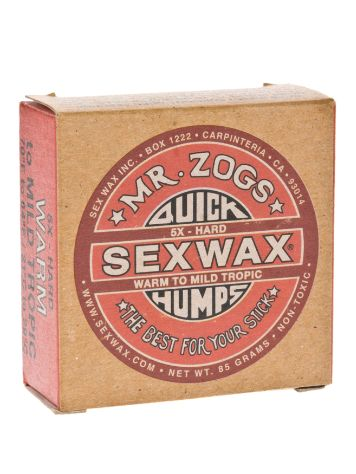 Sex Wax Quick Humps red Hard Surfwachs