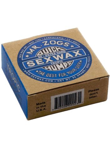 Sex Wax Quick Humps blue Extra Hard Surf Wax