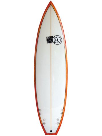 Light Quad Performance Shortboard 6'5 Surfboard
