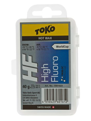 Toko HF Hot Wax blue -9°C / -30°C 40g Wax