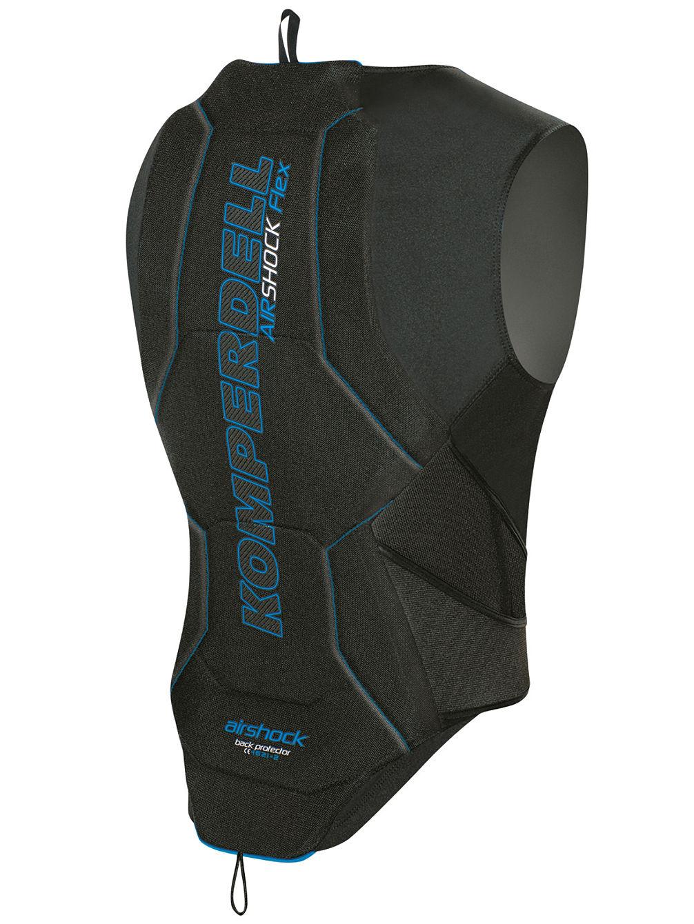 komperdell airshock flex protector vest with belt. Black Bedroom Furniture Sets. Home Design Ideas