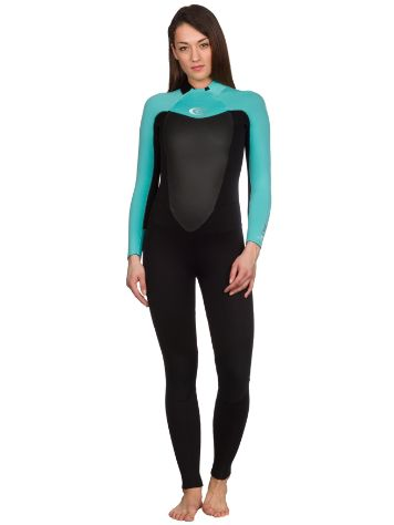 Rip Curl Omega 3/2 Gb Back Zip Wetsuit