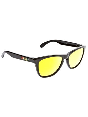 Oakley Frogskin Polished Black Sonnenbrille