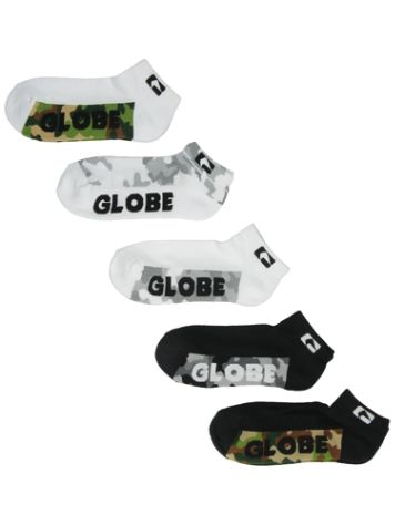Globe Malcom Ankle 5Pk Chaussettes