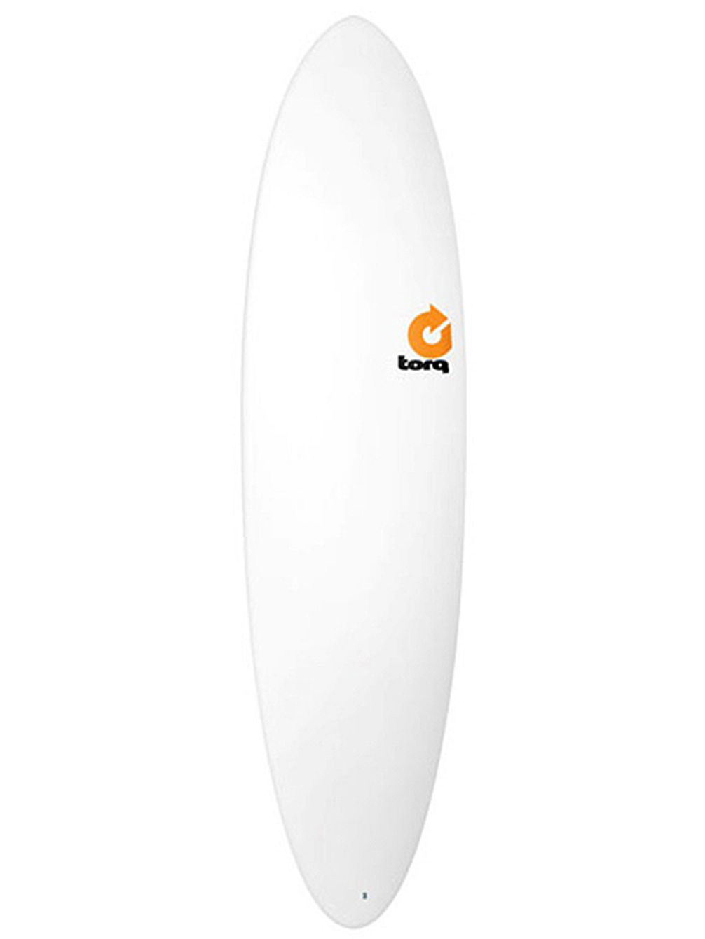 Epoxy 7.2 Funboard White Surfboard