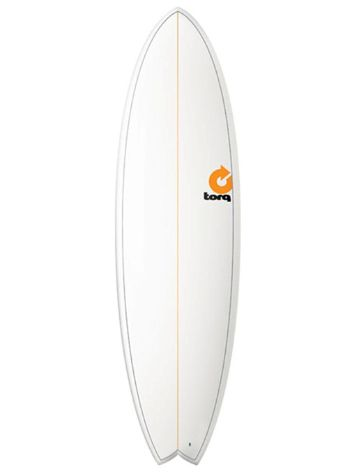 Torq Epoxy 6'6 Fish Pinlines Surfboard