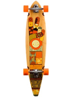 "Goldcoast The Origin 40"" x 9"" Complete orange Gr. Uni"