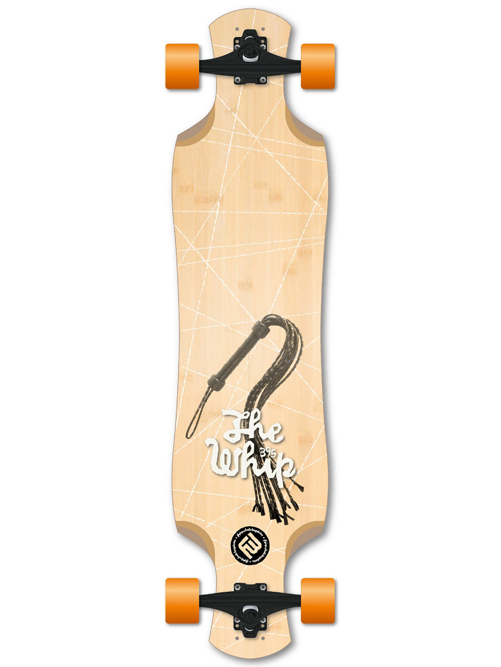 "Whip 39"" Longboard Complete"