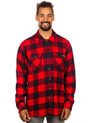 Dickies Sacramento Shirt LS red Gr. L