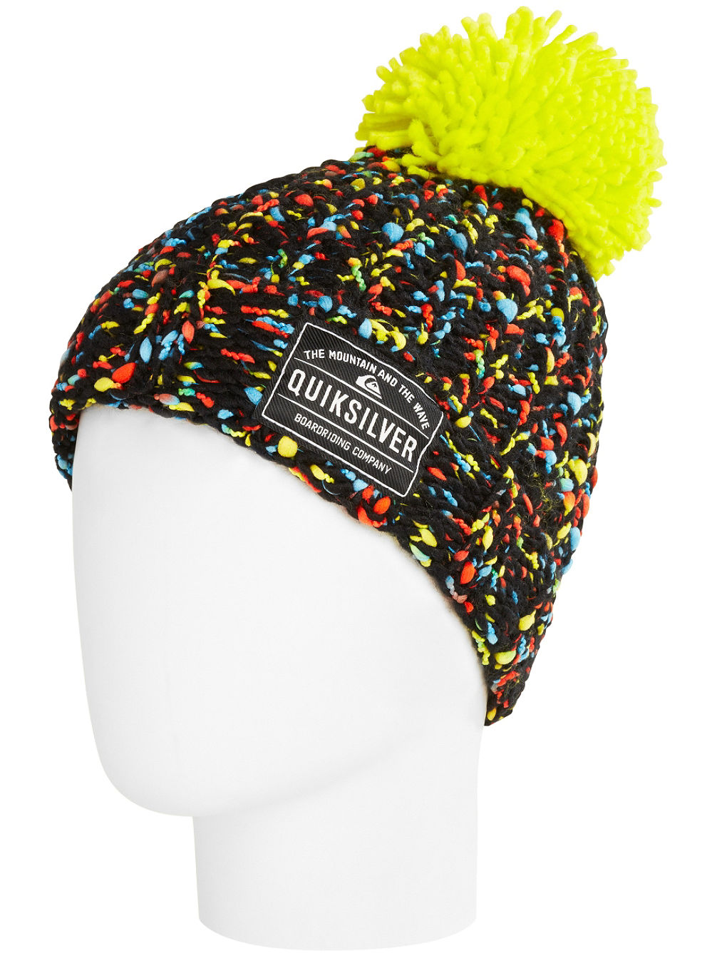 1c373a99163 Buy Quiksilver Pom Pom Beanie Youth online at Blue Tomato
