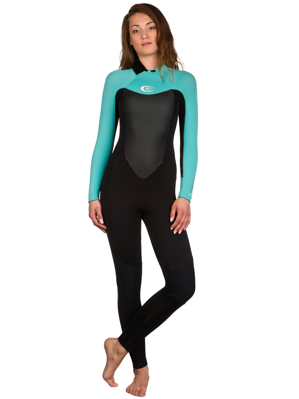 Omega 4/3 Gb Back Zip Wetsuit