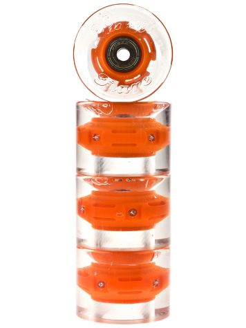 Sunset Skateboards Orange 59mm Conical Cruiser Rollen