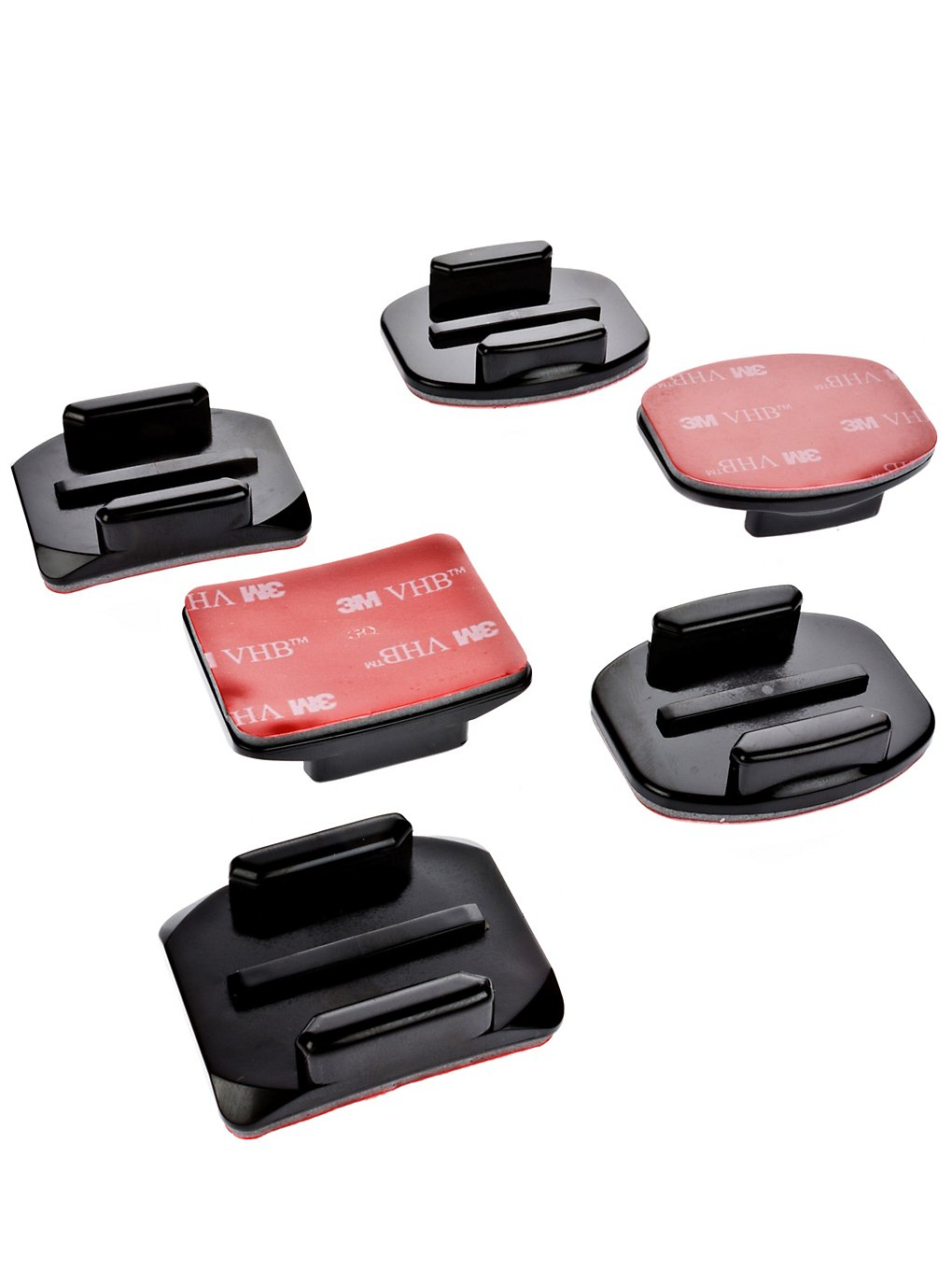 GoPro Cam Flat + Curved Adhesive Mounts no color