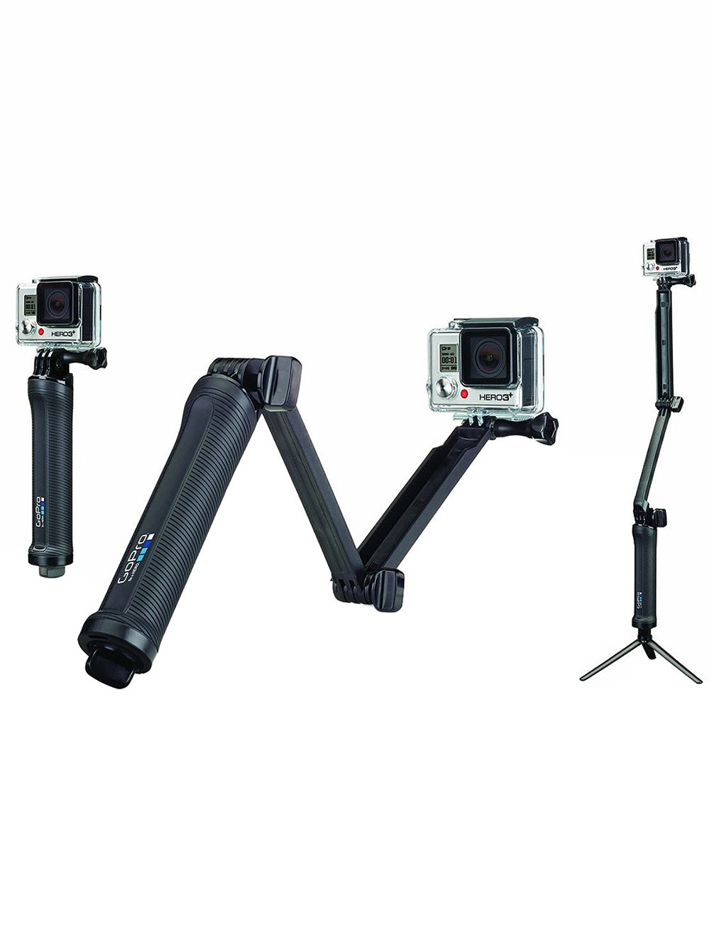 3-Way Mount - Grip / Arm / Tripod