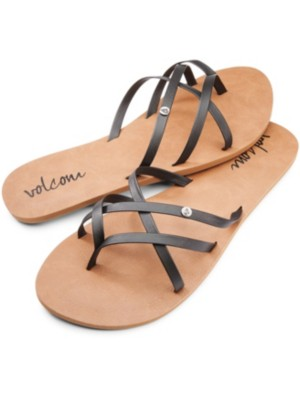 Volcom New School Sandals Women black Gr. 8.0 US