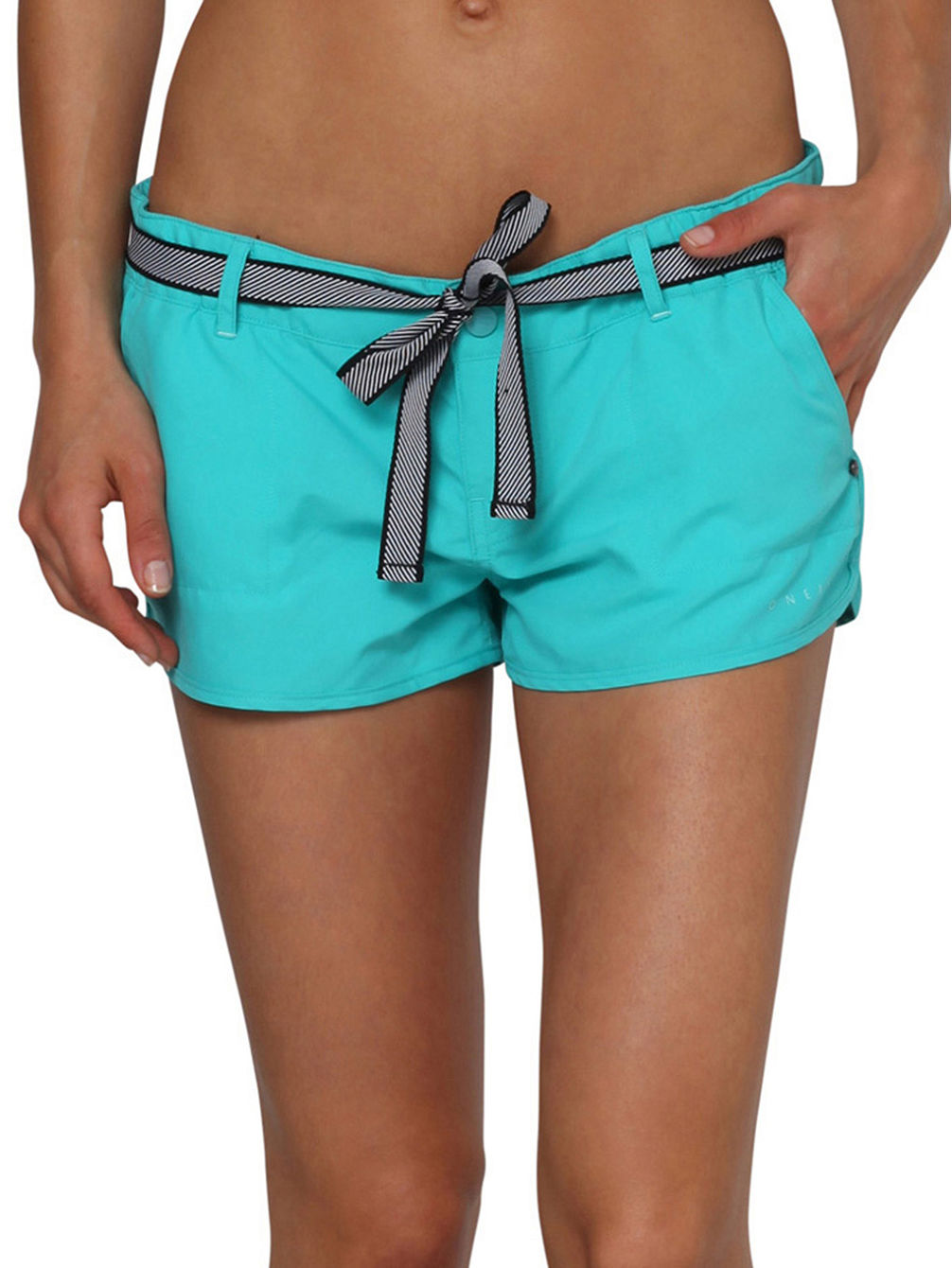 Chica'S Solid Boardshorts