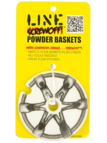Line Screwoff Powder Basket 90 mm 12Pk Stavar